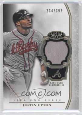 2013 Topps Tier One Relics #TOR-JU - Justin Upton /399