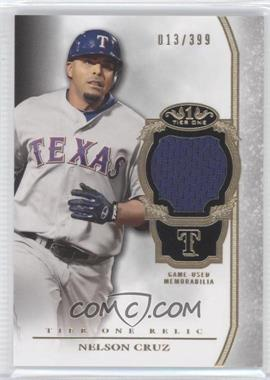 2013 Topps Tier One Relics #TOR-NC - Nelson Cruz /399