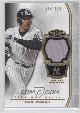 2013 Topps Tier One Relics #TOR-PO - Paul O'Neill /399