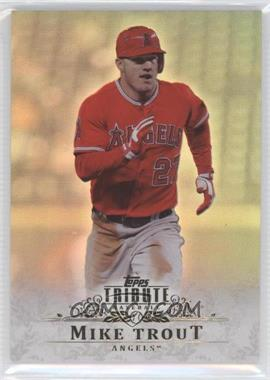 2013 Topps Tribute - [Base] #48 - Mike Trout