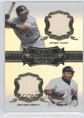 2013 Topps Tribute - Transitions Relics #TT-CFI - Cecil Fielder /99