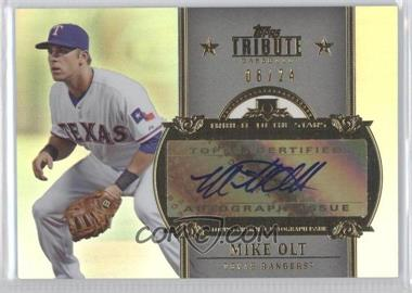 2013 Topps Tribute - Tribute to the Stars Autographs #TSA-MO - Mike Olt /24