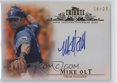 2013 Topps Tribute Certified Autograph Issue Orange [Autographed] #TA-MO2 - Mike Olt /25