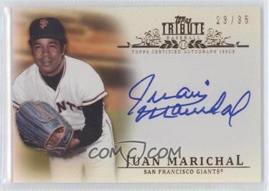 2013 Topps Tribute Certified Autograph Issue Sepia [Autographed] #TA-JM2 - Juan Marichal /35