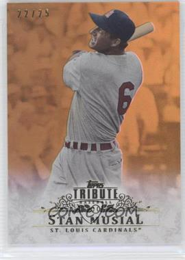 2013 Topps Tribute Gold #44 - Stan Musial /25