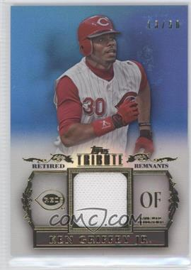 2013 Topps Tribute Retired Remnants Relic Blue #RR-KG - Ken Griffey Jr. /50
