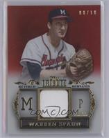 Warren Spahn /10 [Mint]