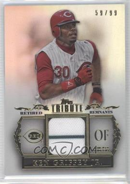 2013 Topps Tribute Retired Remnants Relic #RR-KG - Ken Griffey /99