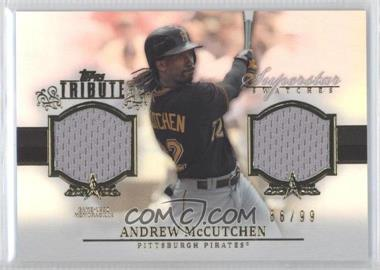2013 Topps Tribute Superstar Swatches Relics #SS-AM - Andrew McCutchen /99