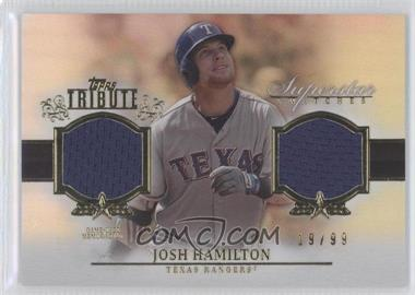 2013 Topps Tribute Superstar Swatches Relics #SS-JH - Josh Hamilton /99