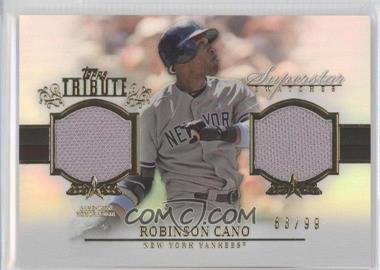2013 Topps Tribute Superstar Swatches Relics #SS-RC - Robinson Cano /99