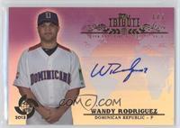 Wandy Rodriguez #1/1