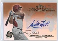 Asdrubal Cabrera /35