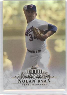 2013 Topps Tribute #36 - Nolan Ryan