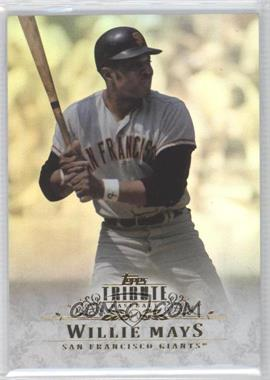 2013 Topps Tribute #47 - Willie Mays