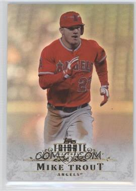 2013 Topps Tribute #48 - Mike Trout