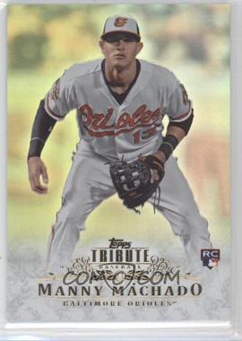 2013 Topps Tribute #93 - Manny Machado