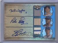 David Wright, Pedro Martinez, Zack Wheeler /3