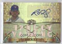 R.A. Dickey /18