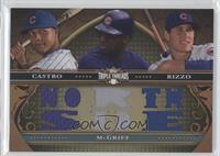 Starlin Castro, Anthony Rizzo, Fred McGriff /27