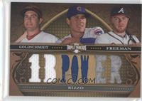Paul Goldschmidt, Anthony Rizzo, Freddie Freeman /27
