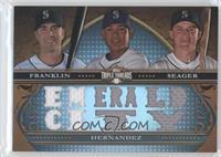 Nick Franklin, Felix Hernandez, Kyle Seager /36