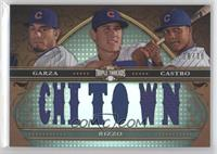 Matt Garza, Starlin Castro, Anthony Rizzo /36