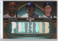 Ryan Howard, Adrian Gonzalez, Yonder Alonso /36