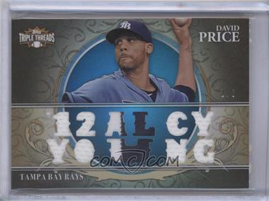 2013 Topps Triple Threads Relics Sapphire #TTR-DPR1 - David Price /3