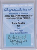 Bruce Rondon /25 [REDEMPTIONBeingRedeemed]
