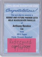 2013 Rookie - Anthony Rendon /25 [REDEMPTION Being Redeemed]