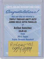 Anibal Sanchez /75 [REDEMPTION Being Redeemed]