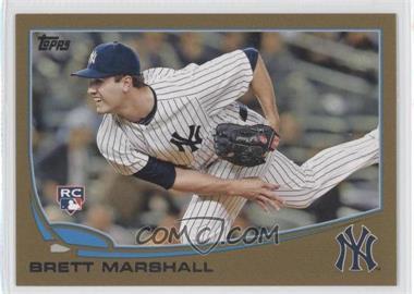 2013 Topps Update Series - [Base] - Gold #US51 - Brett Marshall /2013