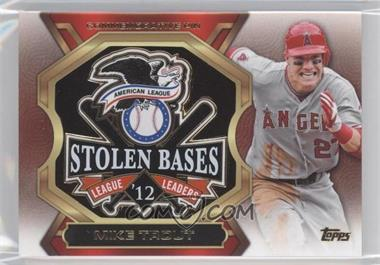 2013 Topps Update Series - League Leaders Pins #LLP-MT - Mike Trout