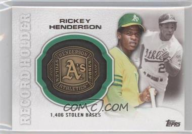 2013 Topps Update Series - Record Holder Rings #RHR-RH - Rickey Henderson