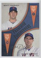 Matt Harvey, David Wright