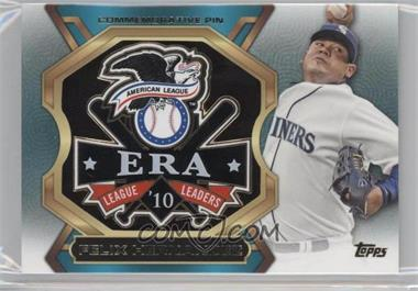 2013 Topps Update Series League Leaders Pins #LLP-FH - Felix Hernandez