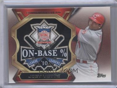 2013 Topps Update Series League Leaders Pins #LLP-JV - Joey Votto