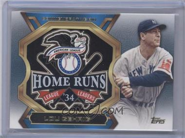 2013 Topps Update Series League Leaders Pins #LLP-LG - Lou Gehrig
