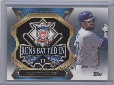 2013 Topps Update Series League Leaders Pins #LLP-MK - Matt Kemp