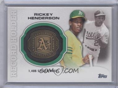 2013 Topps Update Series Record Holder Rings #RHR-RH - Rickey Henderson