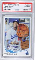 Yasiel Puig (Big Glove) [PSA 10]
