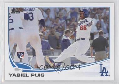 2013 Topps Update Series #US250.2 - Yasiel Puig