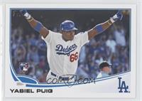 Yasiel Puig (Hands Up)