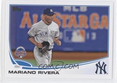 2013 Topps Update Series #US313.2 - Mariano Rivera (Glove in Hand)