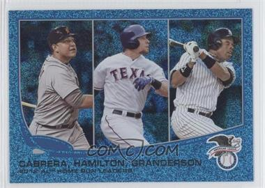 2013 Topps Wrapper Redemption [Base] Blue Slate #153 - 2012 AL Home Run Leaders (Miguel Cabrera, Josh Hamilton, Curtis Granderson)