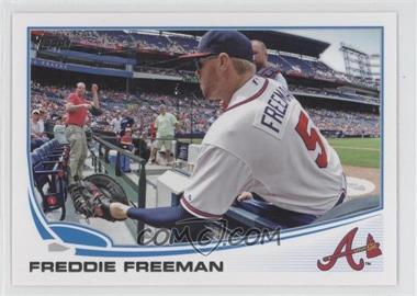 2013 Topps #105.2 - Freddie Freeman (Crowd Interaction)