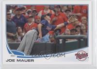 Joe Mauer Great Catch