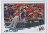 Joe Mauer (Great Catch)