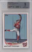 Bryce Harper Great Catch [BGS 9]